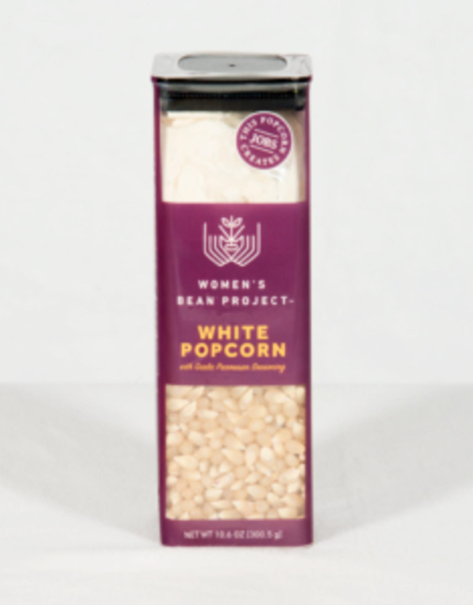 White Popcorn w/Garlic Parmesan Seasoning