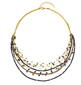 Lina Necklace Blacks