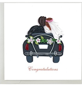Just Married Quilling Card, Vietnam