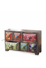 Horizontal Bright Mango Spice Chest