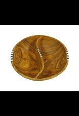 Olive Wood Pistachio Bowl, Uganda