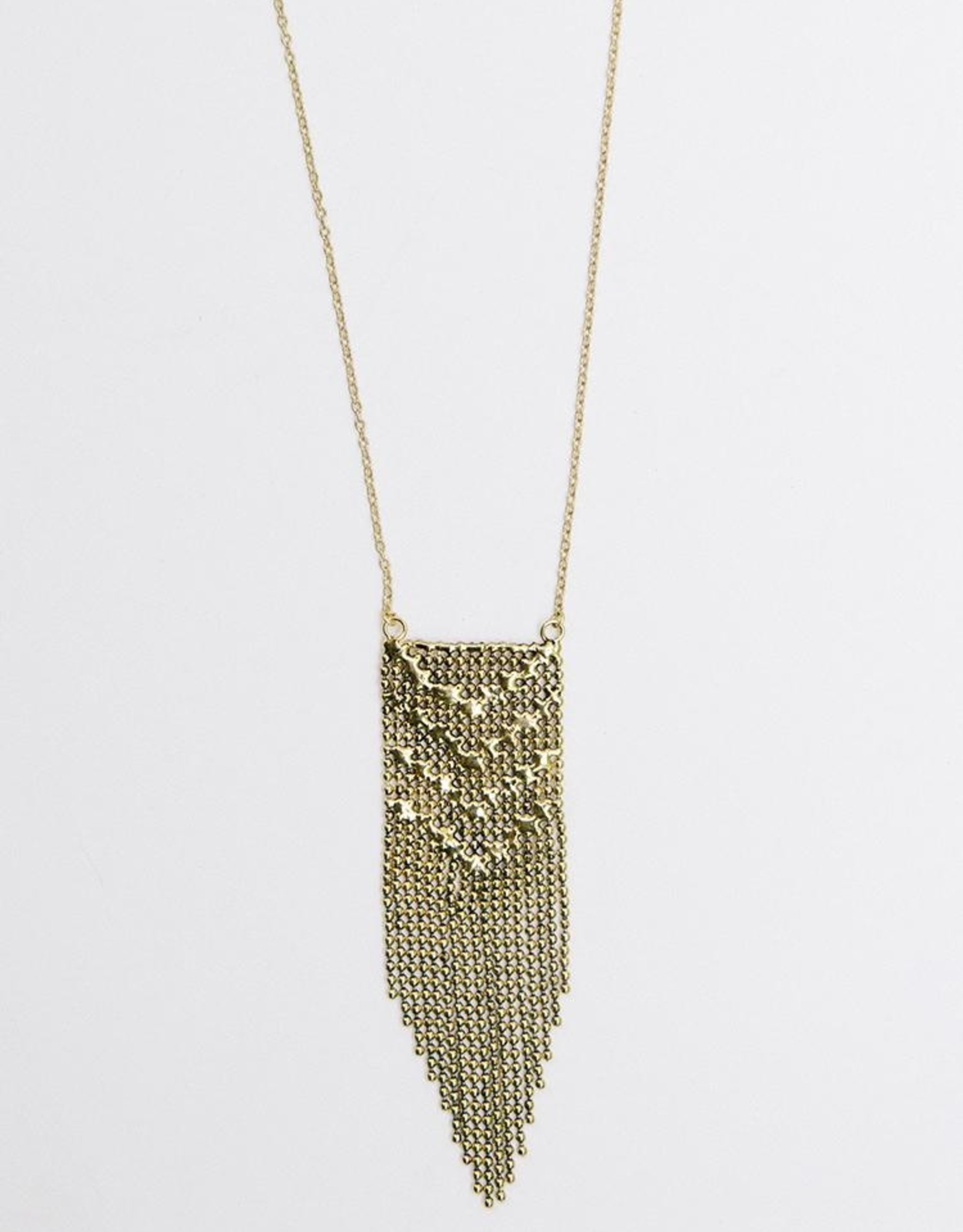 India, Metal Work Necklace SIlver or Gold