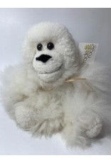 Alpaca Fur Stuffed Monkey