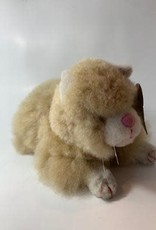 Peru, Alpaca Fur Animal Kitty (brown or white)