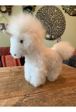 Alpaca Fur Animal Unicorn, Pink, Blue, White, Peru