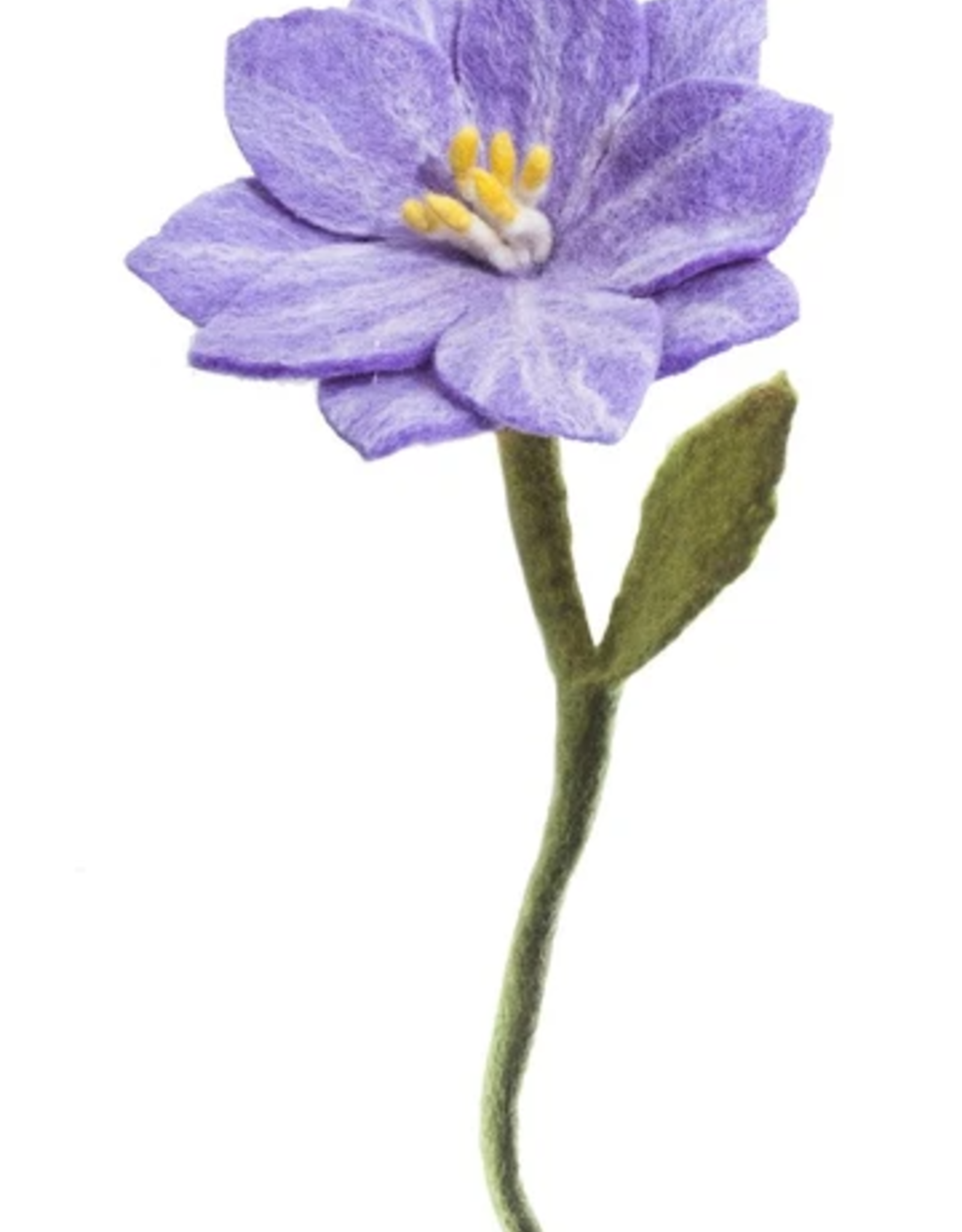 Felt Wildflower, Light Purple