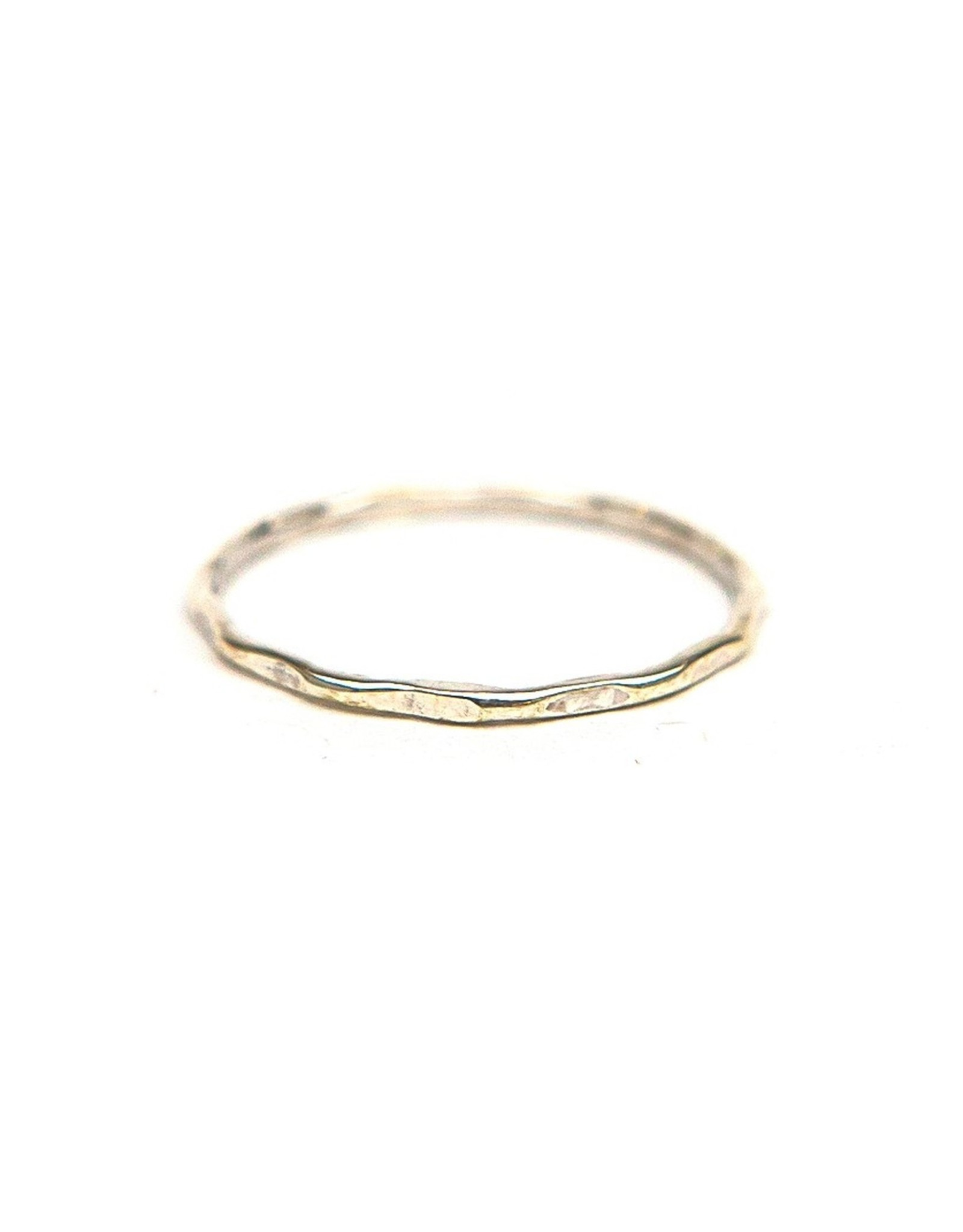 Mexico, Sterling Stacking Ring plain 9