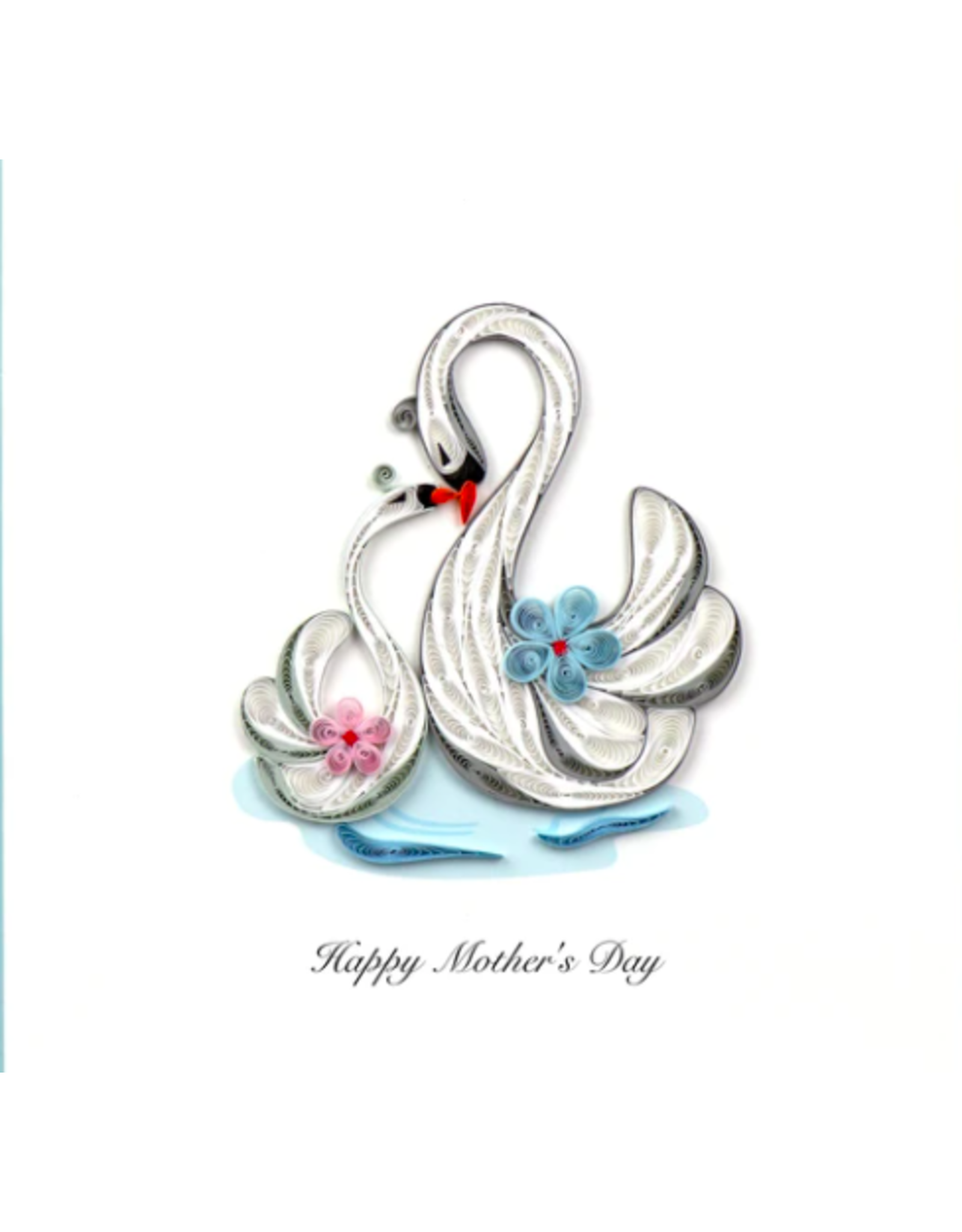 Happy Mother's Day Swans
