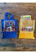 Local, Sandy Tevlin Crayon Fabric Bag
