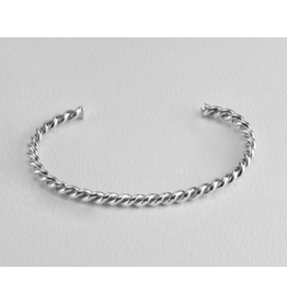 Twisted  Sterling Silver Cuff Stout, Vietnam