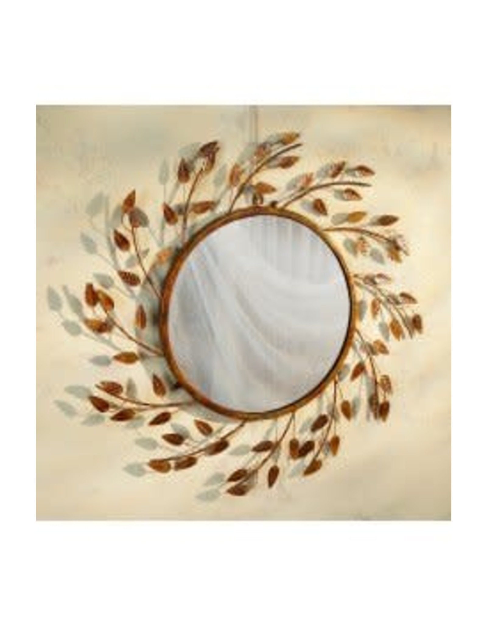 Copper Branch Mirror LOCAL ONLY