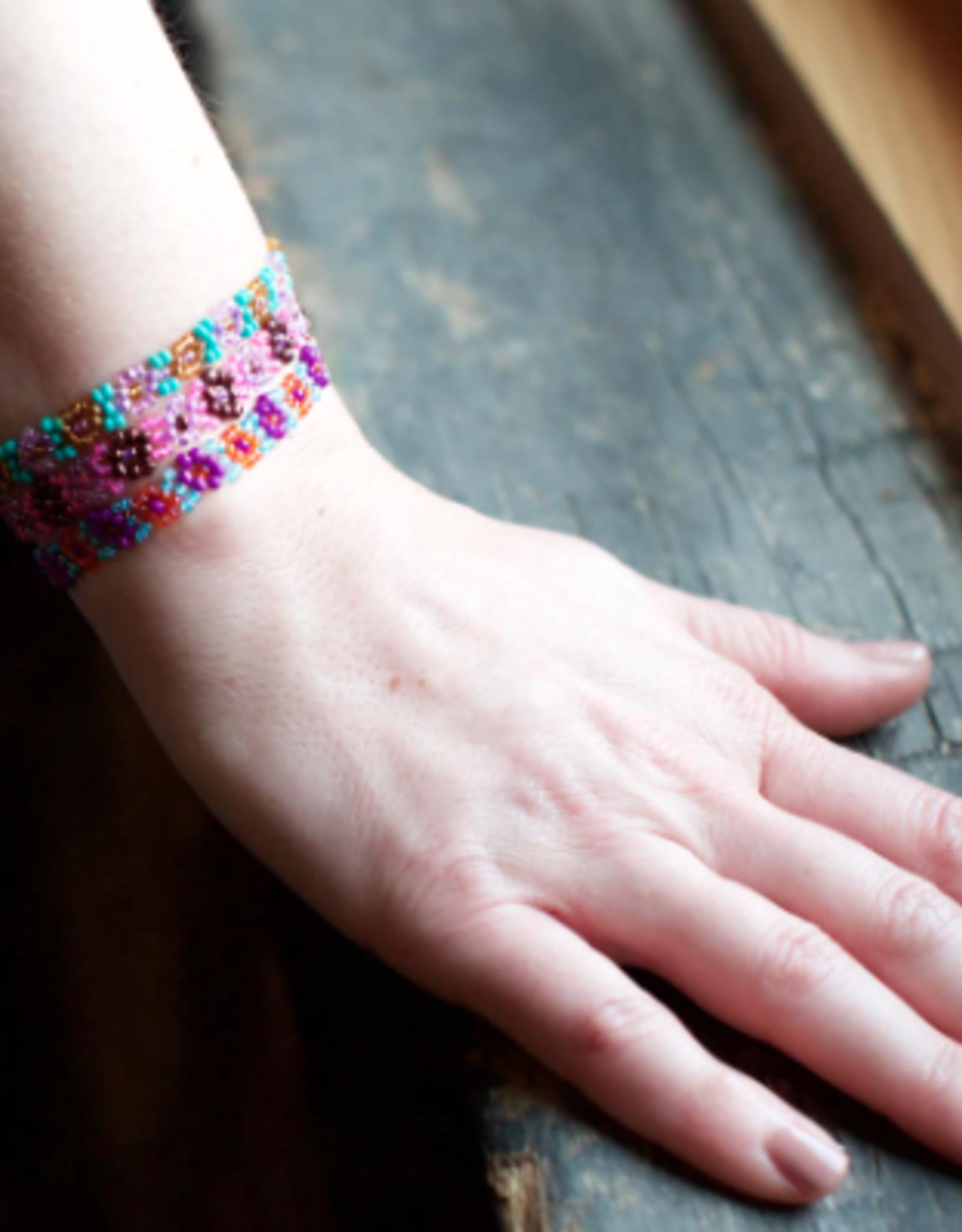 Guatemala, Flower Bracelet
