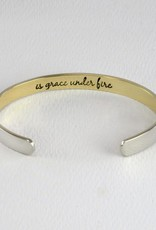 Stackable Cuffs,  COURAGE IS GRACE UNDER FIRE