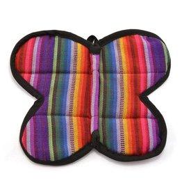 Butterfly Pot Holder, Guatemala
