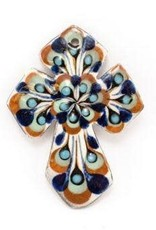 Hand Painted Small Ceramic  Cross