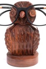 Owl eyeglass holder, India