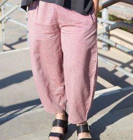 Cotton Bowleg Pants, Red, Nepal