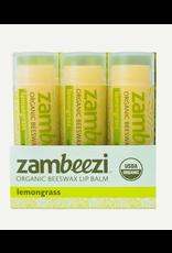 Single Lip Balm Lemongrass, Zambia