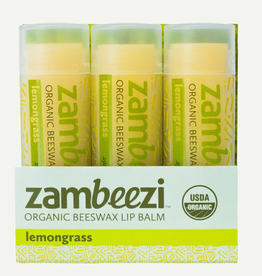 Zambia, Lip Balm Single Lemongrass