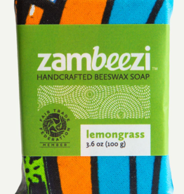 zambia, Beeswax Soap Lemongrass