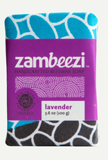 zambia, Beeswax Soap Lavender