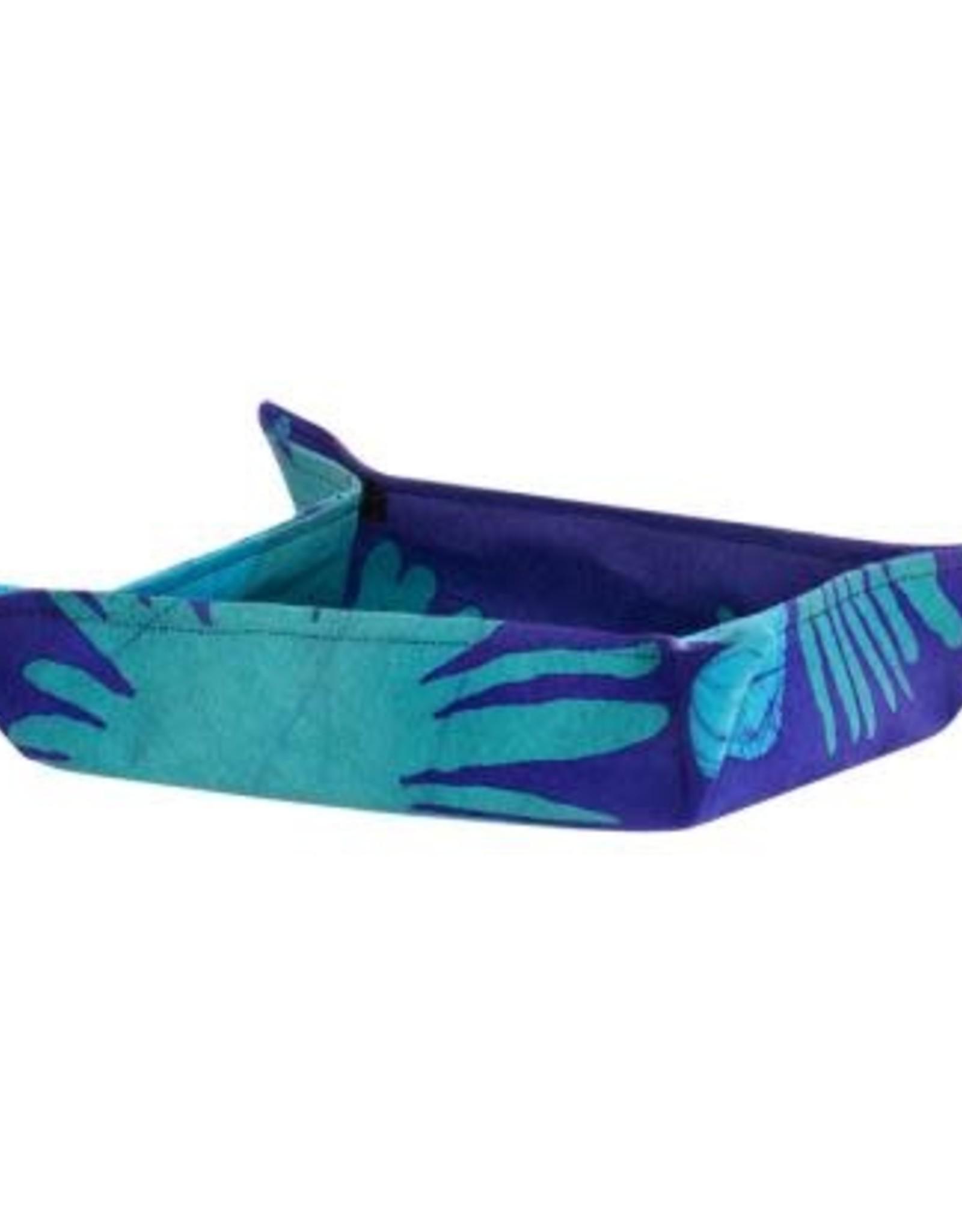 Ghana, Velcro Basket, Fern Navy