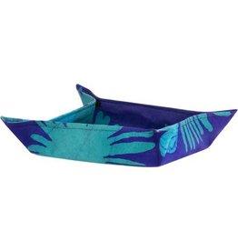 Velcro Basket, Fern Navy