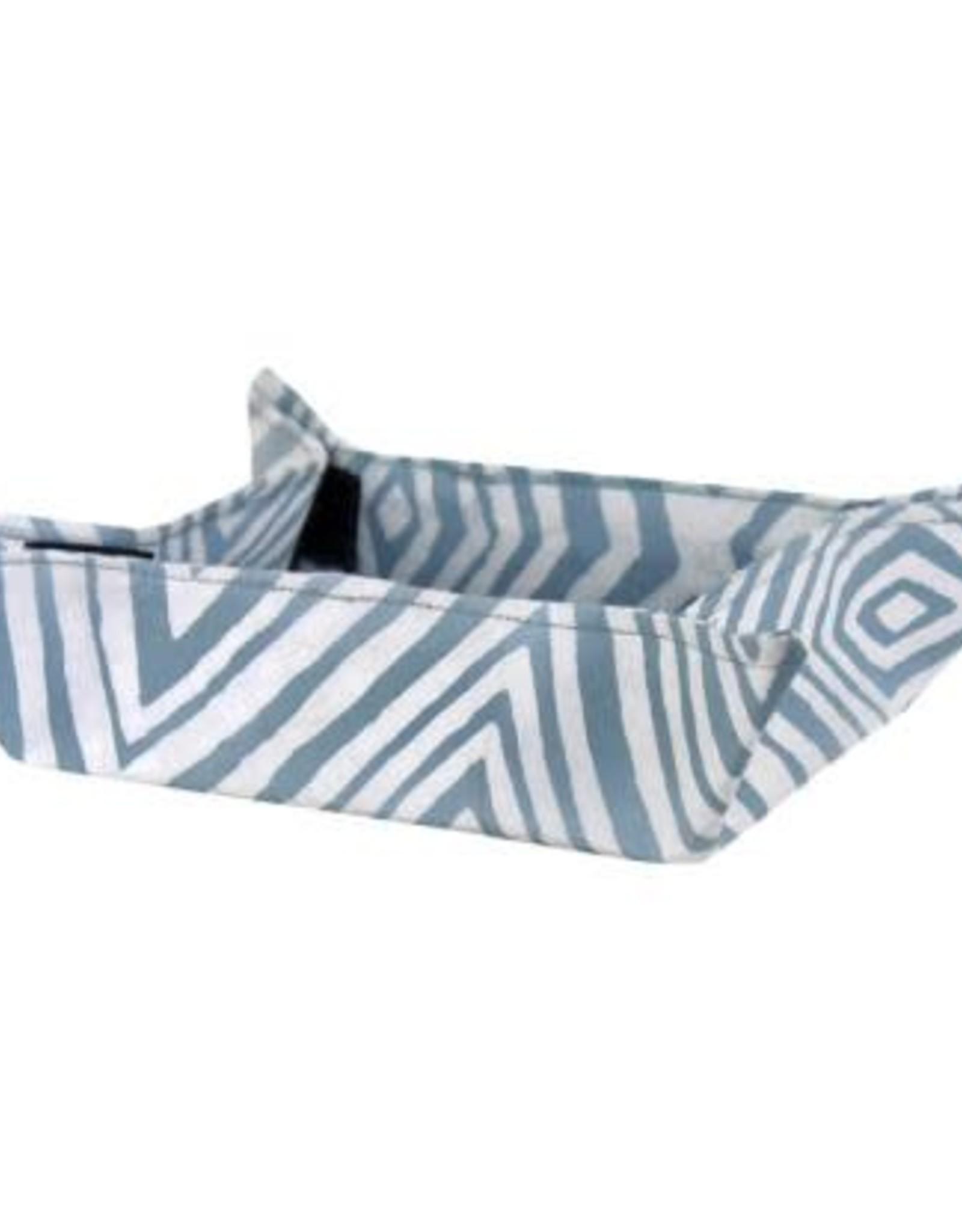 Velcro Basket, Diamond Silver