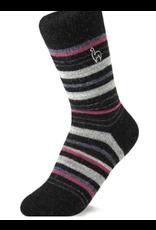 Alpaca Socks Mauve