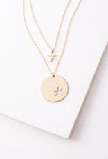 Gold Starfish Pendant Necklace