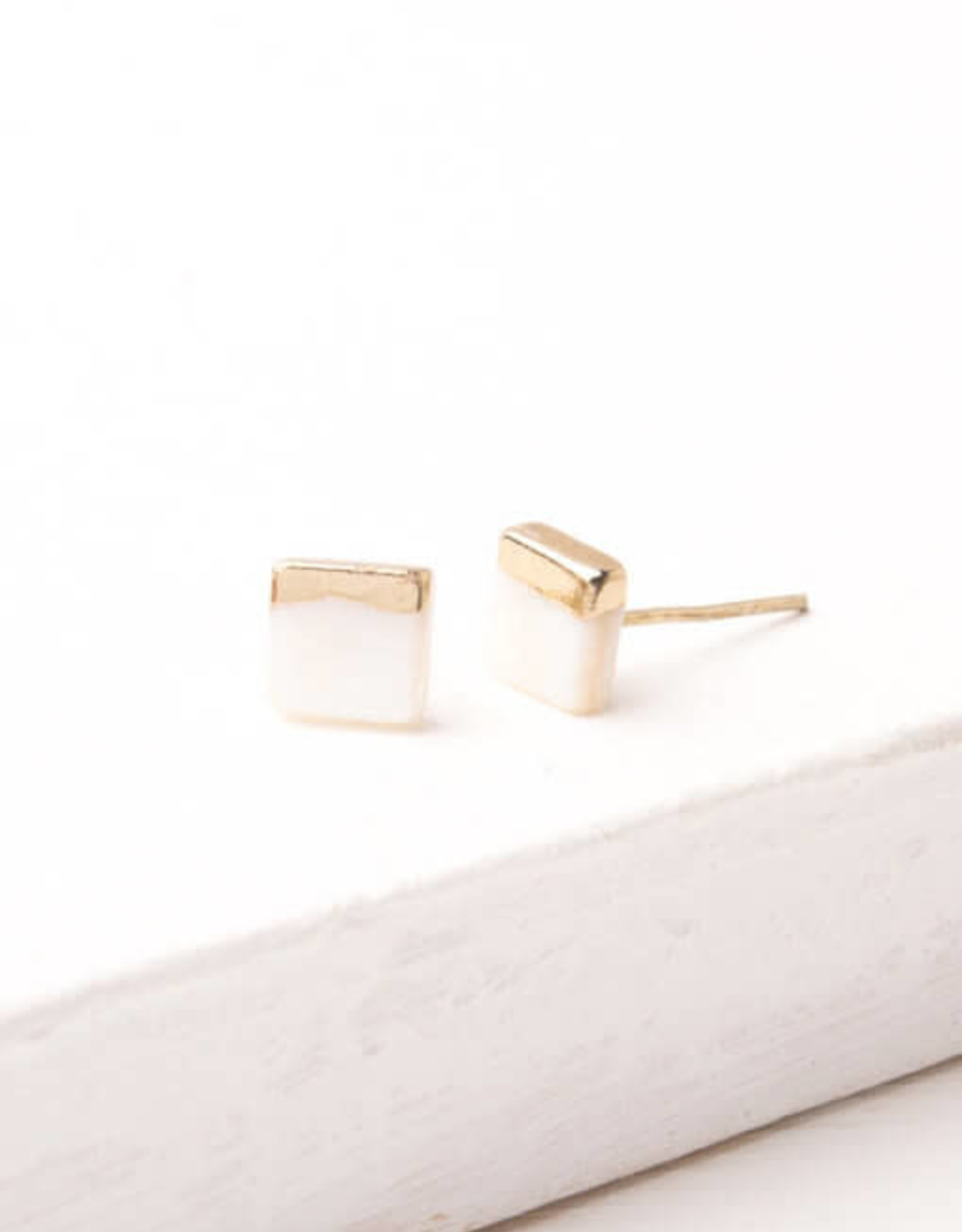 Kelly Mother of Pearl Studs
