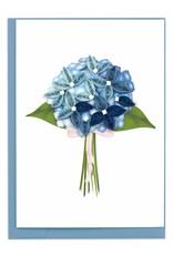 Blue Hydrangea Gift Enclosure