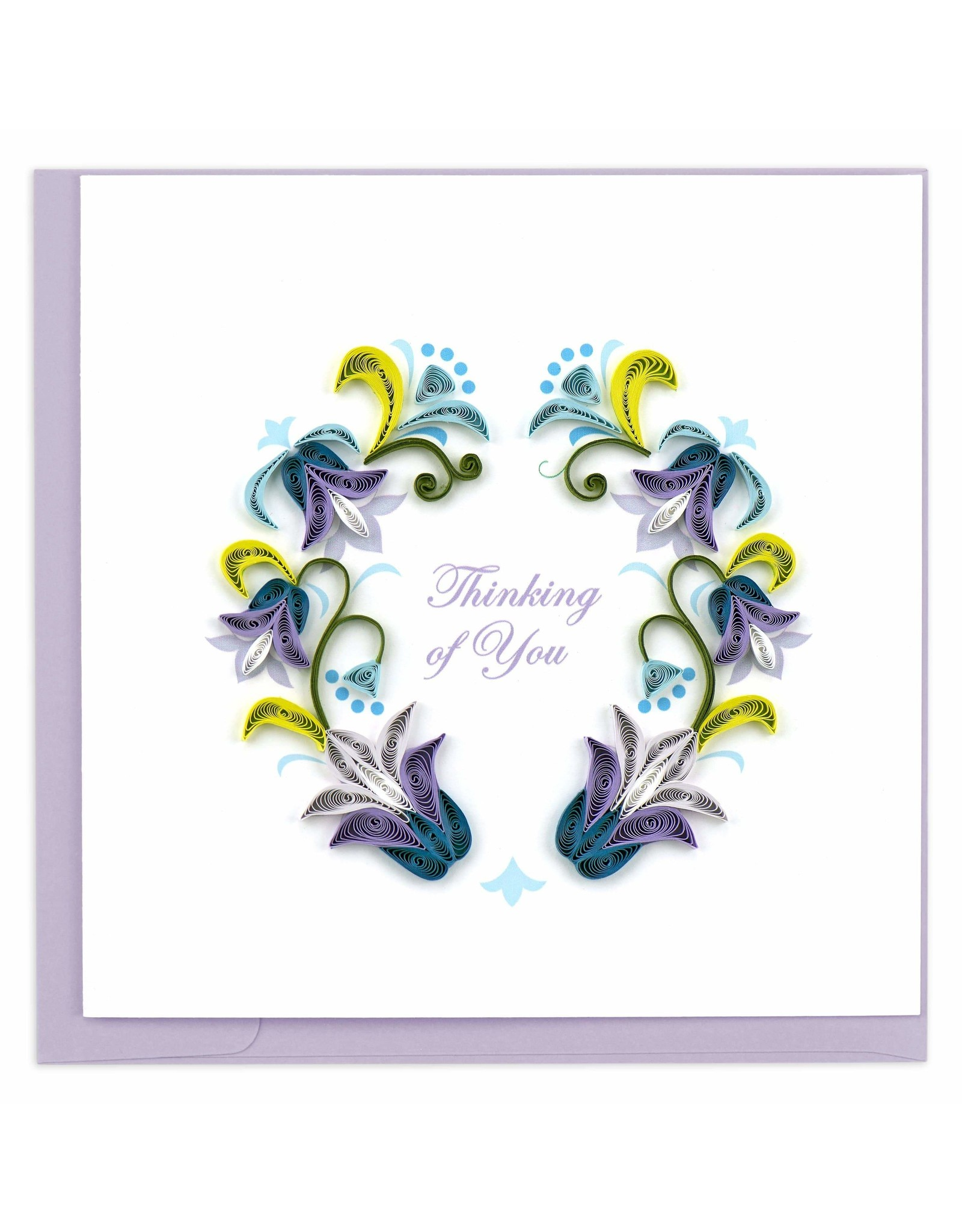 Thinking of You Quilling Card