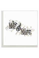 Mr. & Mrs. Quilling Card
