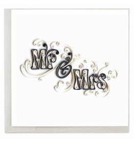 Mr. & Mrs. Quilling Card, Vietnam