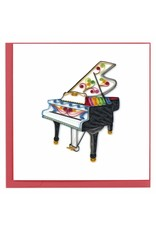 Grand Piano Quilling Card, Vietnam