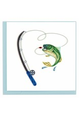 Vietnam, Quilling Cards Gone Fishing