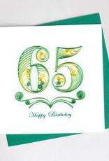 65th Birthday Quill