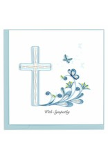 Vietnam, Sympathy Cross Quill Card
