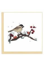 Bird & Berries Quilling Card, Vietnam