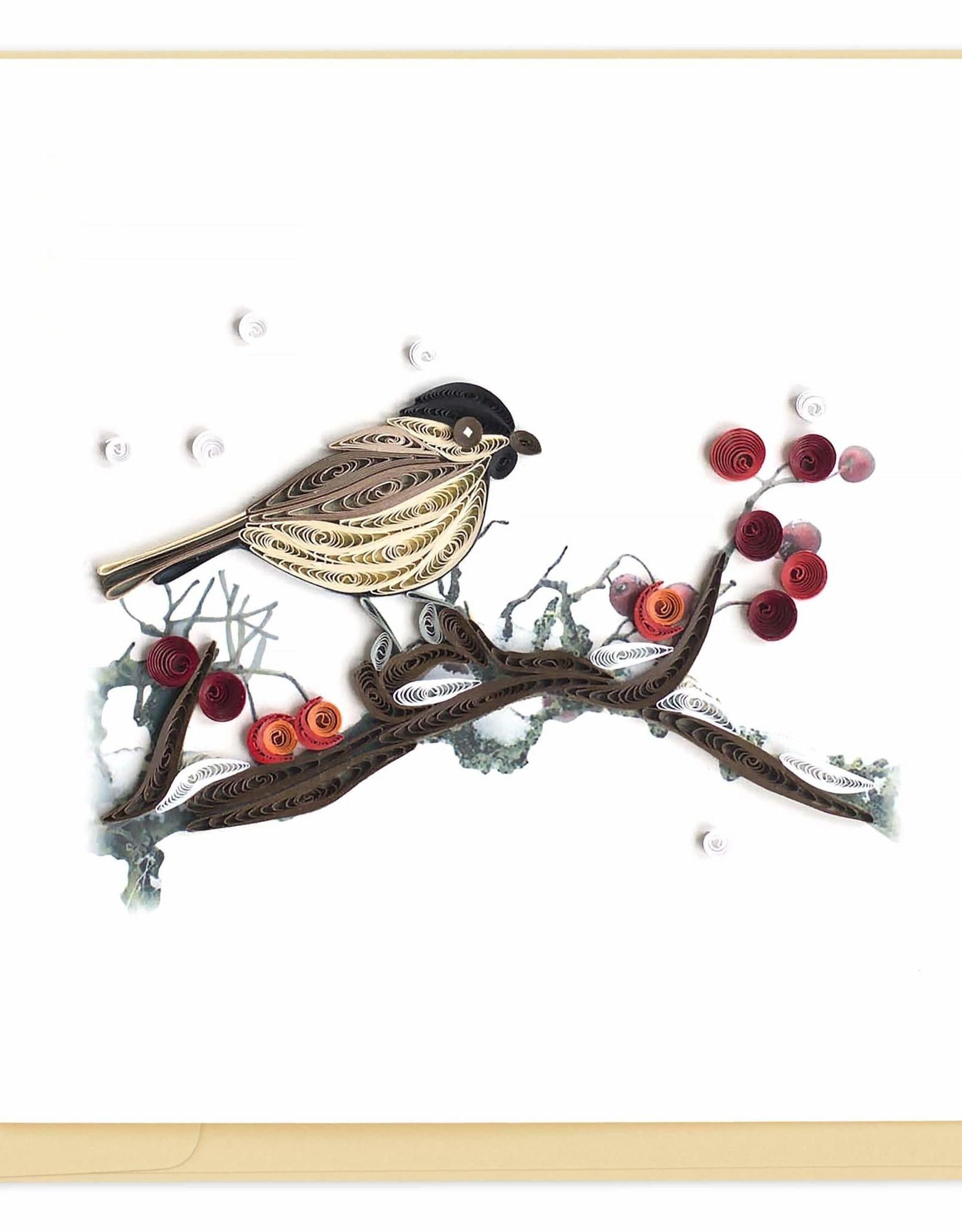 Vietnam, Quill Bird & Berries