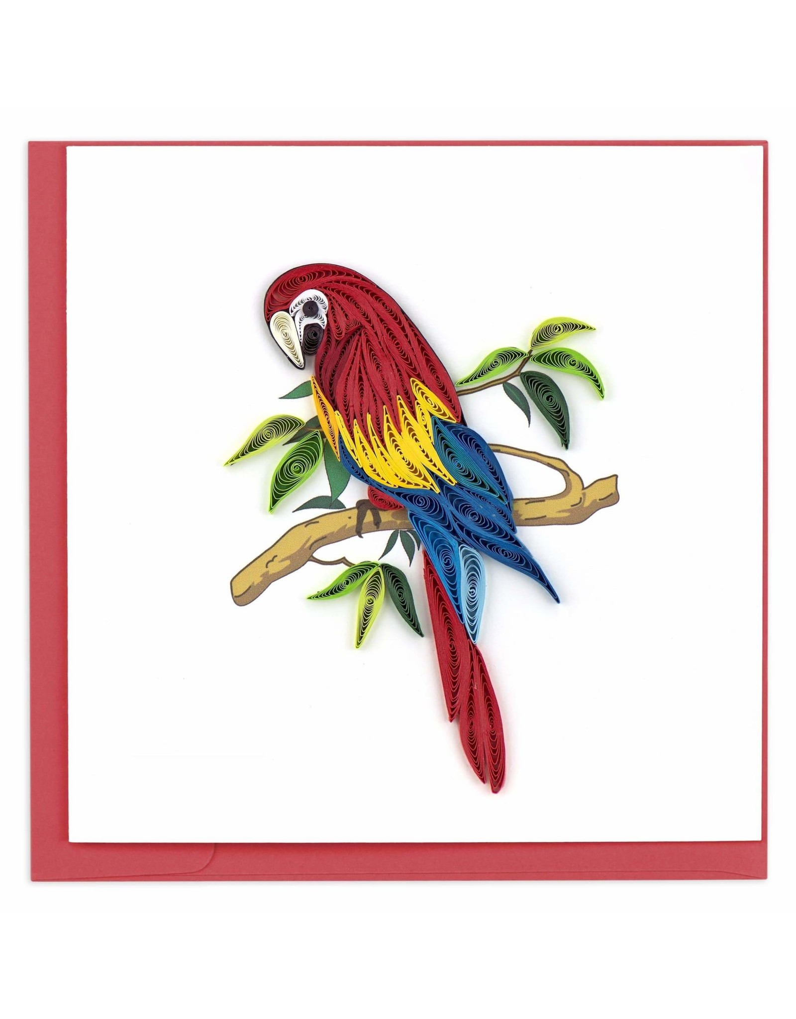 Parrot Quilling Card, Vietnam