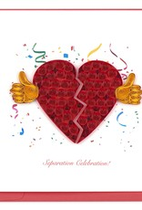 Separation Celebration Red Card