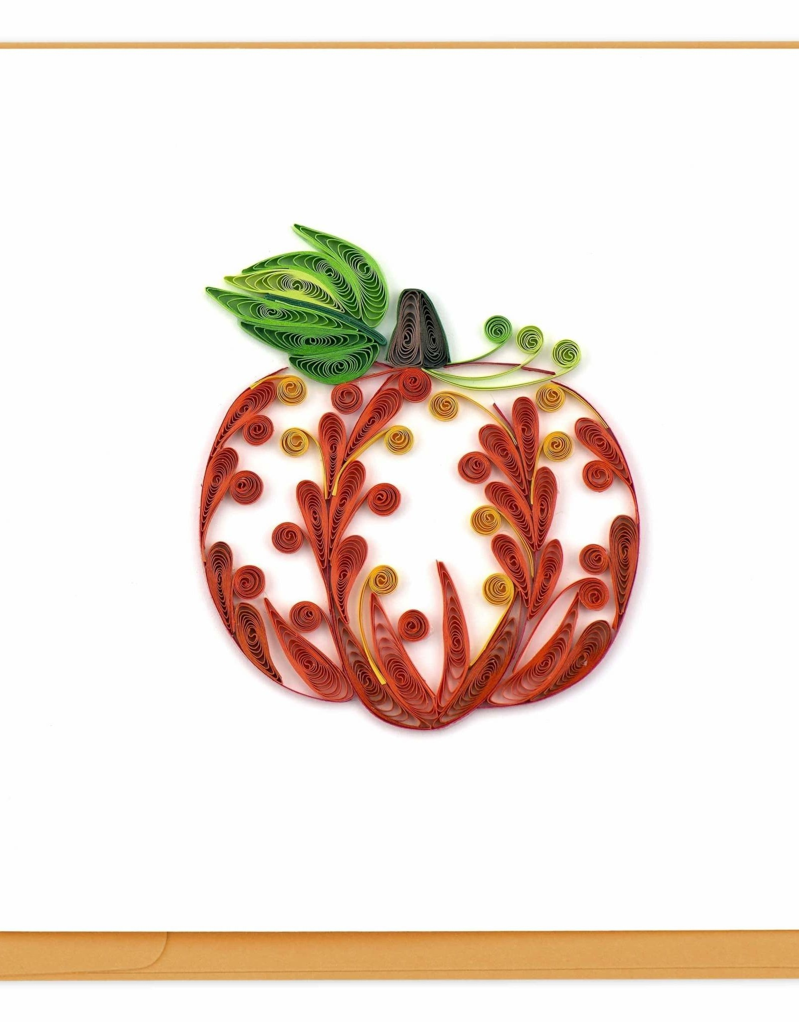 Decorative Pumpkin Quill