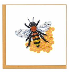 Honey Bee Quilling Card, Vietnam