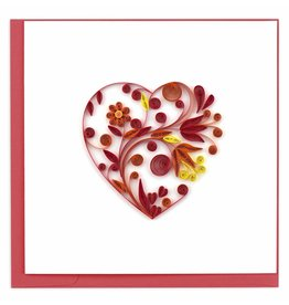 Large Heart Quilling Card, Vietnam