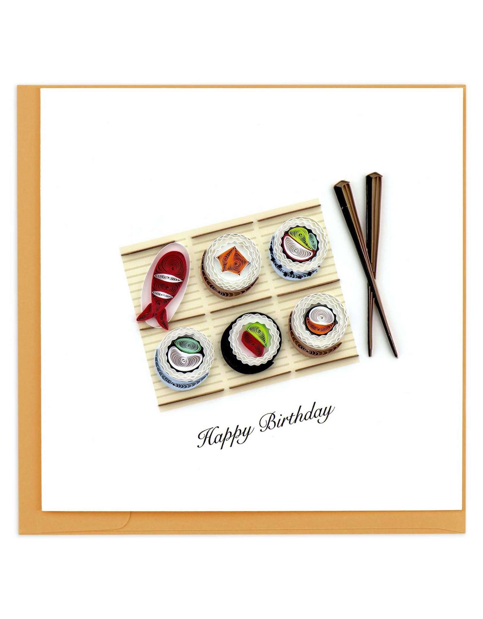 Sushi Quill Card