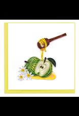Vietnam, Rosh Hashanah Apples & Honey Quill Card