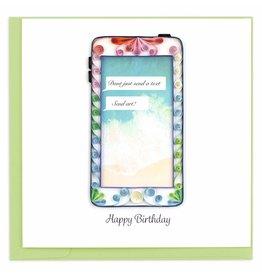 Birthday Phone,  Quilling Card, Vietnam
