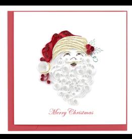 Santa Happy Holiday Quilling Card